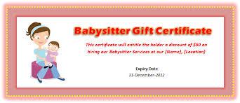 babysitting certificates babysitting clipart certified babysitting certified
