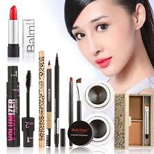 new women value pack makeup set gift gel eyeliner eye liner pen eyebrow pencil y lipstick