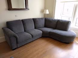 corner sofas ikea. Brilliant Sofas LIKE NEW Grey Corner Sofa IKEA TIDAFORS  ONO Inside Sofas Ikea A