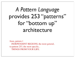 Pattern Language Enchanting Pattern Languages An Approach To Holistic Knowledge Representation