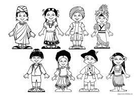 Small Picture children around the world coloring page Preschool Around the