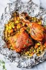 bbq chicken packets