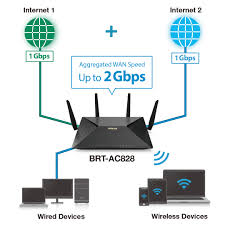 brt ac828 business networking asus usa asus brt ac828 hardware dual wan enables fast