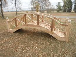 arched footbridge plans big wooden bridge design garden bridges 4 52 ft long elegant landscape better