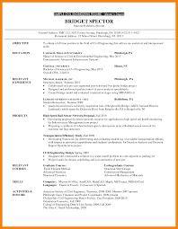 Graduate School Resume Examples 24 Grad School Resume Examples Agile Resumed 9