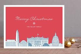 creative holiday cards. Plain Cards Skyline Christmas Cards Intended Creative Holiday