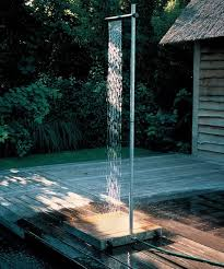 outdoor shower idea if you need to wash after the pool
