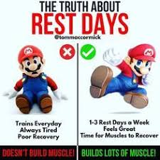 Muscle Recovery Time Chart If You Train Everyday Always Feel Tired And Struggle To