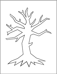 Christmas Tree Stencil Printable Printable Treeees Printables Drawing Large Family