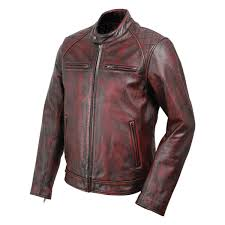 leatherette jacket leather jacket motorcycle summer spring storm men goat riders jacket goat leather goat leather