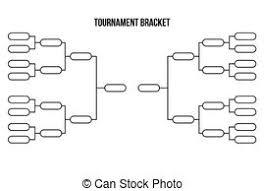 Sweet Sixteen Bracket Template Tournament Bracket Vector Championship Template Abstract
