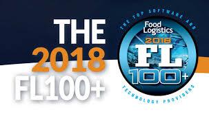 Food Tracker Pro Globe Tracker Globe Tracker Named To Food Logistics 2018 Fl100