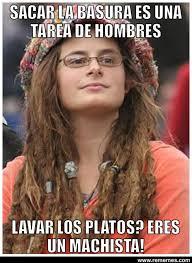 Doble moral de chica hippie via Relatably.com