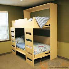 murphy bed furniture. Urban Stack Bunk Murphy Bed-Closed Bed Furniture