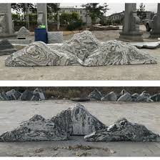 china natural stone rockeries garden