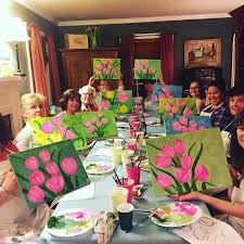 birthday paint and sip party es