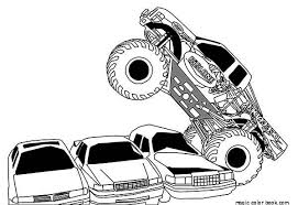 Small Picture Awesome Grave Digger Truck Coloring Pages Pictures Coloring Page