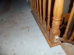 impressive installing laminate flooring around stair spindles installation around railings stairs general hardwood flooring