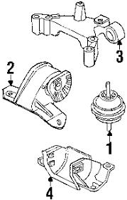 parts com® land rover lander engine trans mounting oem parts 2002 land rover lander se v6 2 5 liter gas engine trans mounting