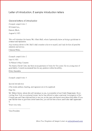 New An Introduction Letter Resume For A Job