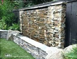 outdoor wall waterfall amazing water walls for your backyard fountain fountains indoor wa outdoor waterfall tain water kits backyard
