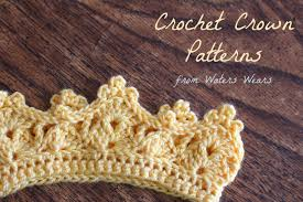 Crochet Crown Pattern Unique Crochet Crowns Two Free Patterns Tales Of Butterflies