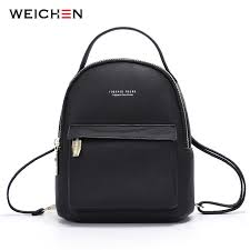 <b>WEICHEN Multi Function Women</b> Backpack Leather Fashion <b>Small</b> ...