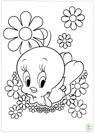 Looney Toons Coloring Pages Baby Tunes Coloring Pages Games