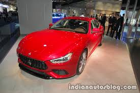 2018 maserati ghibli granlusso. brilliant maserati 2018 maserati ghibli gransport front quarter at iaa 2017 throughout maserati ghibli granlusso n