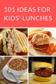 Homemade Lunch Ideas For Home