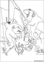 Small Picture Shark Tale coloring pages on Coloring Bookinfo