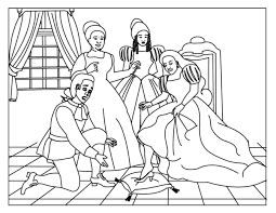 It's simple to download, print and color them. Cinderella Coloring Pages For Kids Online Coloring Pages