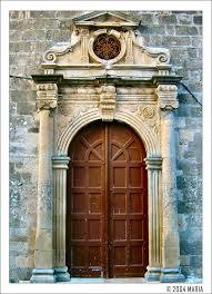 europe greece ionian islands lefkada lefkada a very old door by maritsa