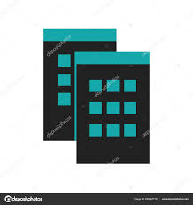 Windows Symbol Symbol Datenvektor Isoliert Auf Weißem Hintergrund