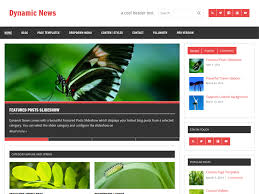 Wordpress Template Newspaper Dynamic News Themezee