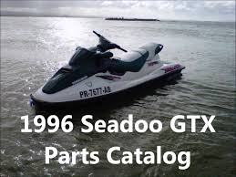 jet ski 1996 seadoo gtx operators guide parts specifications jet ski 1996 seadoo gtx operators guide parts specifications