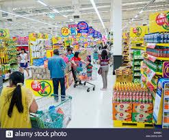 People shopping at Tesco Lotus supermarket in Thailand Stock Photo - Alamy