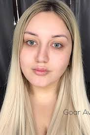 also this beautician is not afraid to show the power of makeup by exle let s be honest learn gohar without makeup very difficult