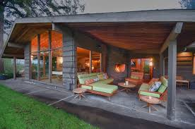 backyard patio covers exterior midcentury with wood beam teak outdoor dining tables mid century modern cover45 modern