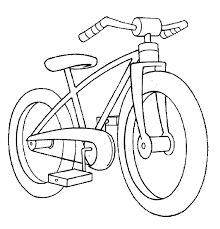 Small Picture Bicycle Preschool Coloring Pages Transportation Transportation