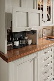 Appliance Garages Kitchen Cabinets Excelente Gabinete Para Esconder La Cafereta U Otros