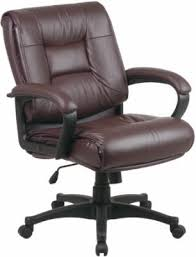 office leather chair. Office Star Glove Soft Leather Chair