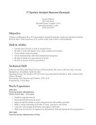 Interesting Technical Skill In Resume Pleasing Extraordinary Design