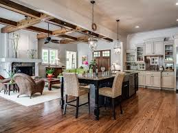 Pottery Barn Style Living Room Rustic Great Room With Ceiling Fan Pottery Barn Hundi Lantern