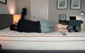saatva return policy. Brilliant Policy A Man Sleeps On His Side With Saatva Return Policy S