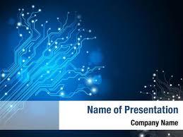 Powerpoint Circuit Theme Circuit Board Tree Powerpoint Templates Circuit Board Tree