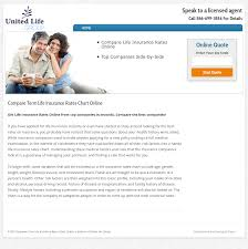 Term Life Insurance Rates Chart Compare Term Life Insurance Rates Chart Online Competitors