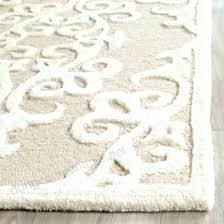 handmade grey silver wool rug galena damask area or runner safavieh bella lavender