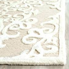 handmade grey silver wool rug galena damask area or runner safavieh bella lavender