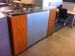 full size of office table used reception desk kansas city used reception desk nh used